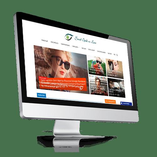 senol optik web tasarım