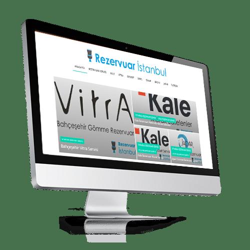 rezervuar web sitesi tasarımı